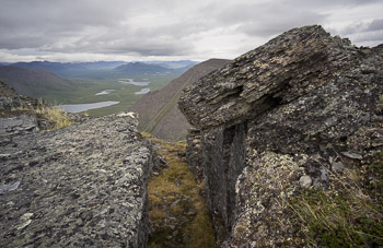 The headwaters of the Alatna river in the northern Arctic.