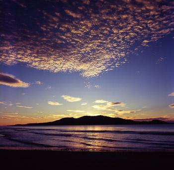 Maria Island dominates the coastal views around Orford and Spring Beach. Taken at Rheban beach.